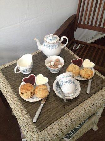 Warmley Waiting Room: Cream Tea