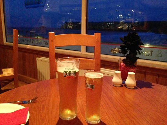 Cafe India : Best Indian restaurant view in Britain!