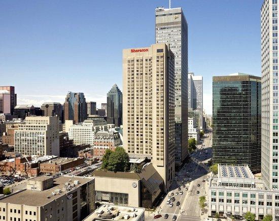 Sheraton Le Centre Montreal Hotel : Exterior 2