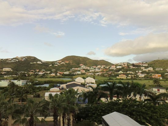 St. Kitts Marriott Resort & The Royal Beach Casino: golf course view from 4th floor balcony hotel room