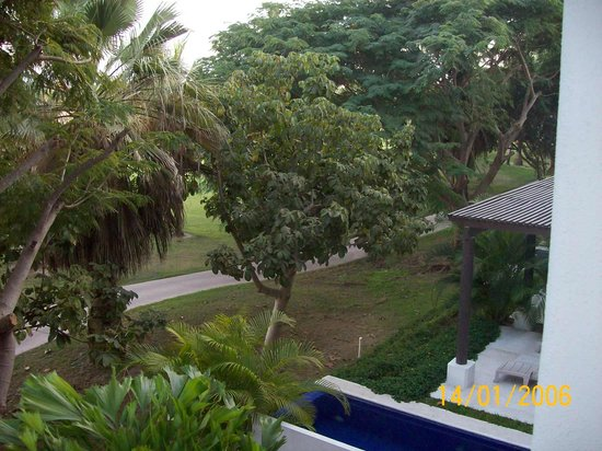 Taheima Wellness Resort & Spa : Vista al campo de golf