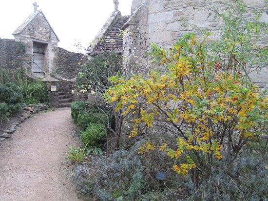 Farleigh Hungerford Castle: Chapel Garden