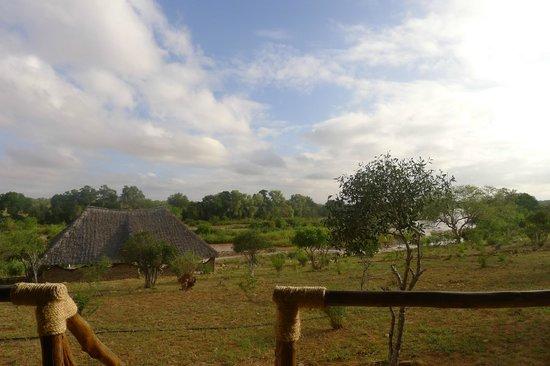 Kiboko Camp: Che vista