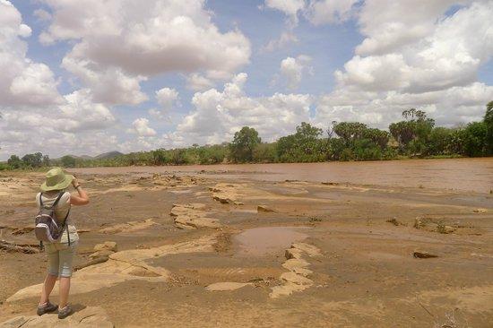 Kiboko Camp: Passeggiata lungo il fiume