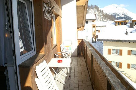 Apart Bella Mira: Balkon...