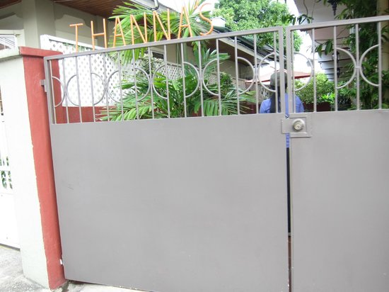 Thanna's Place: 1st secured gate
