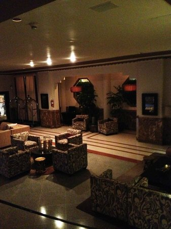 Essex House: The lobby from the 1st floor hallway/stairs