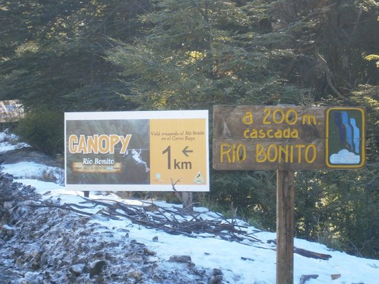 Cerro Bayo: 1-Cº Bayo: h/Cascada Río Bonito