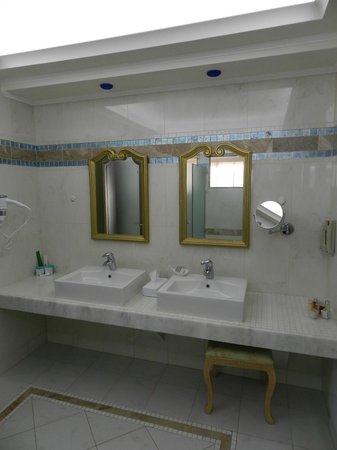 Atrium Prestige Thalasso Spa Resort and Villas : Badezimmer Platinum Beach Villa