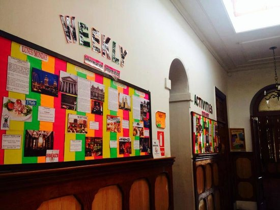 The Point Backpackers Hostel Lima: Weekly activities