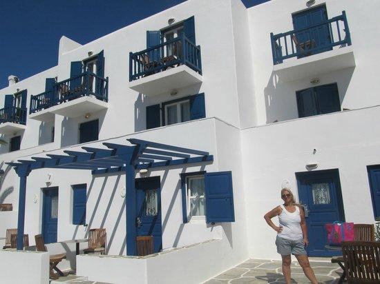 Myconian K Hotels: quarto