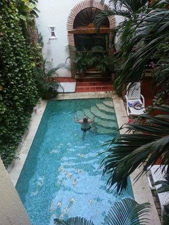 Hotel Don Pedro de Heredia : View of pool