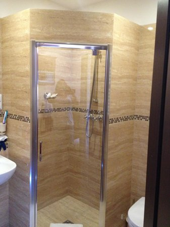 Ventus Rosa Apartments: Loved the shower