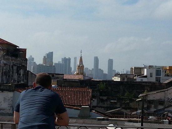 Hotel Don Pedro de Heredia : View from solarium