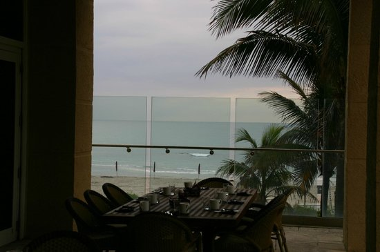 Palm Beach Marriott Singer Island Beach Resort & Spa: View from the dining terrace