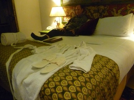 Las Palomas Inn Santa Fe: forgot to mention the slippers and warm terry robes