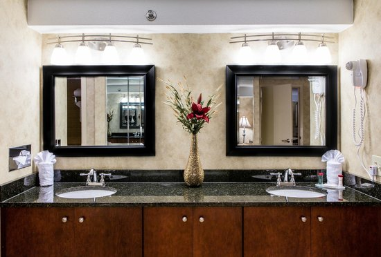 Toledo Hotel and Conference Center: Bathroom Vanity - Presidential Suite