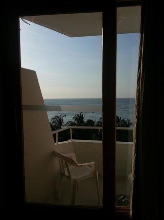 Hotel be La Sierra : View from inside of room