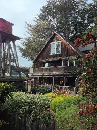 Glendeven Inn Mendocino: Main building/reception