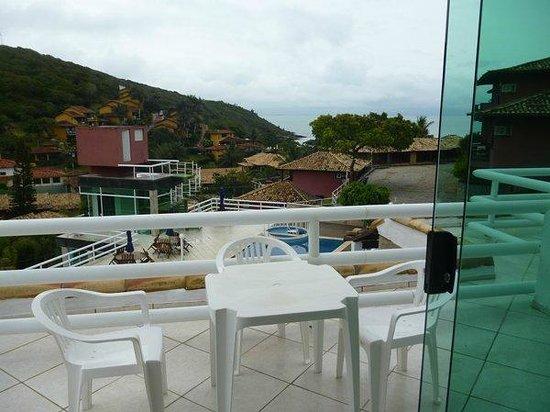 Hotel Pousada Experience Joao Fernandes: Vista del mar desde la habitación