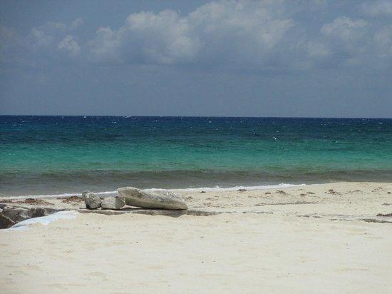El Cozumeleno Beach Resort: Very Nice beach - Somewhat Rocky