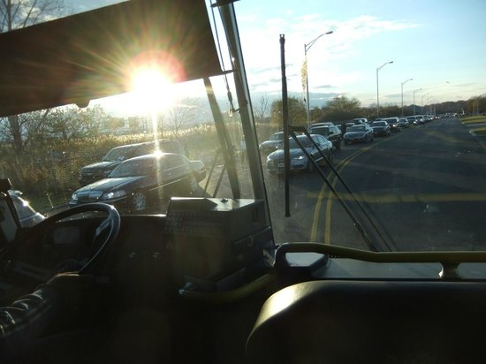 view from the 351 meadowlands express bus bild von metlife stadium rh tripadvisor de