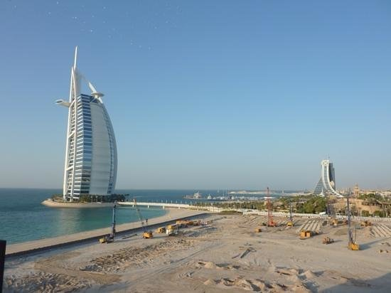 Jumeirah Mina A'Salam : view from our room overlooking site of new hotel, dont be put off, just avoid rooms on this side