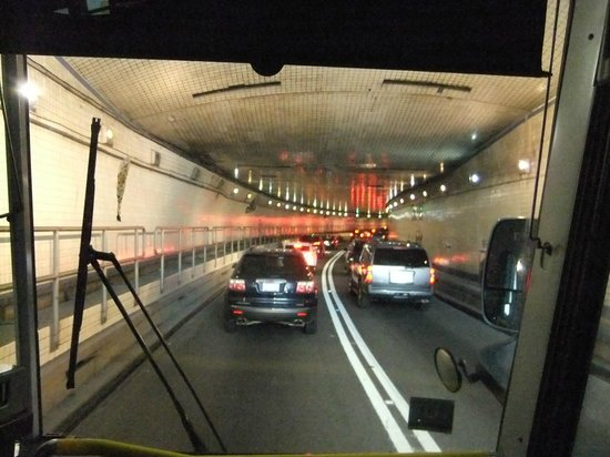 MetLife Stadium: Inside the Lincoln Tunnel