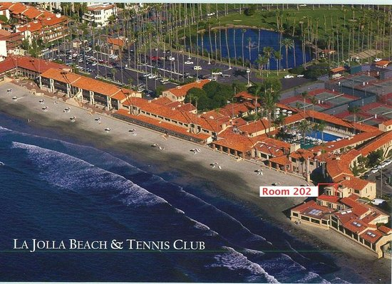 La Jolla Beach and Tennis Club: Location of #202: Best suite!