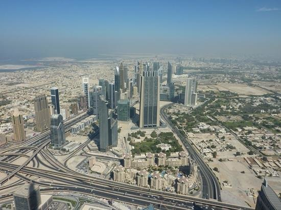 Jumeirah Mina A'Salam : View from Burj Khallifa