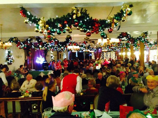 Templestowe Hotel: Christmas dinner in the restaurant!