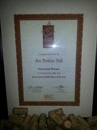 An Poitin Stil: Best in Leinster