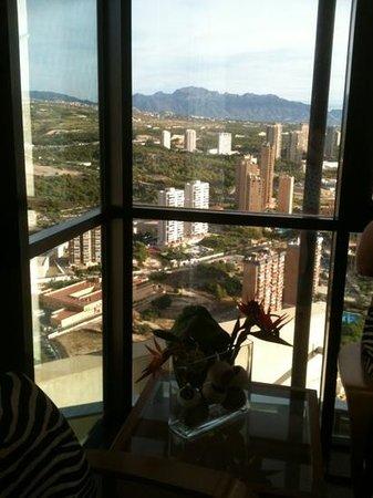 Gran Hotel Bali - Grupo Bali: view from 42nd floor