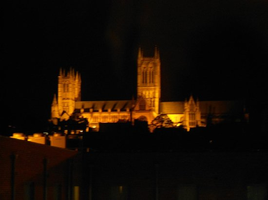 Premier Inn Lincoln City Centre Hotel: View from the room window
