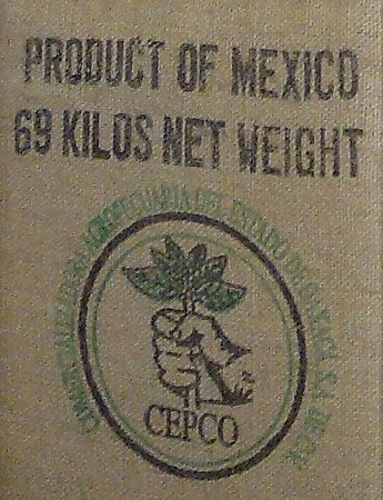 Cafe Grano Cafe: Coffee sack