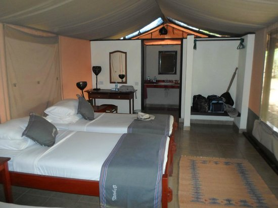 Voyager Ziwani, Tsavo West: Internal view