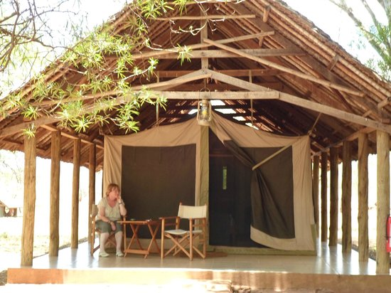 Voyager Ziwani, Tsavo West: Tented accommodation