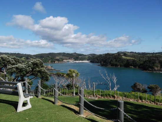 Pacific Rendezvous: Tutakaka inlet from grounds