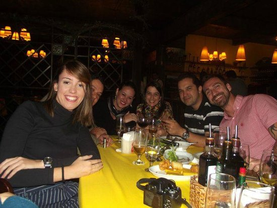 Casa di Paolo: Jantar com Amigos