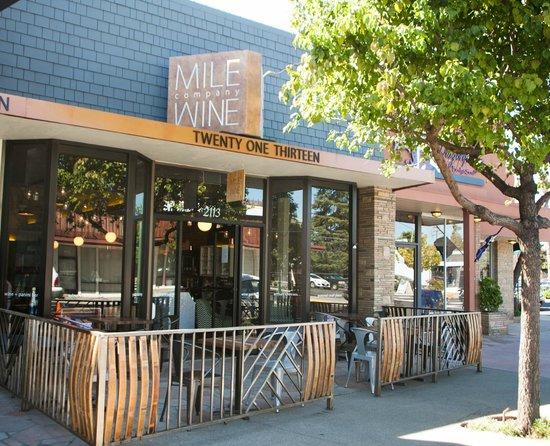 Mile Wine Company Stockton Restaurant Reviews Phone