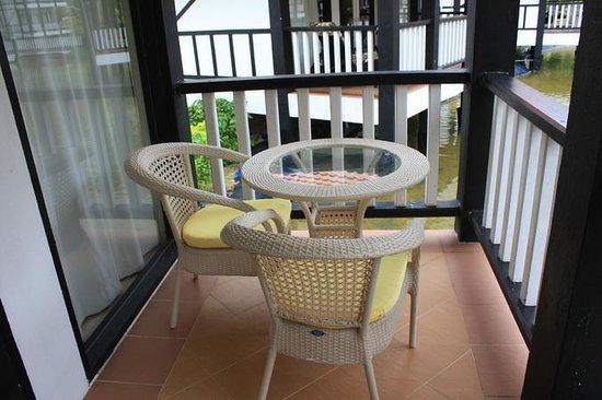 Sari Pacifica Hotel, Resort & Spa - Redang Island: Балкон