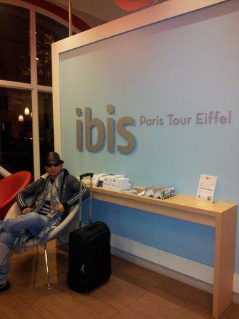 Ibis Tour Eiffel Cambronne : Hotel Ibis Tour Eiffel