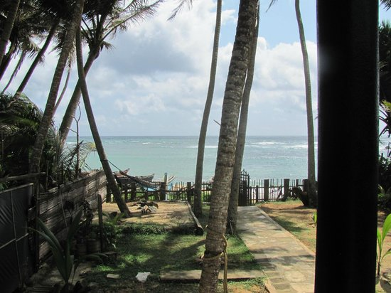 Praneeth Guest House, Mirissa: View from the terrace of our room