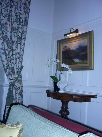Barcaldine Castle: каминная комната