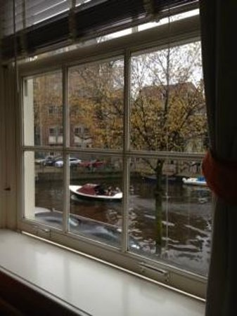 Sir Nico Guest House: river view from window