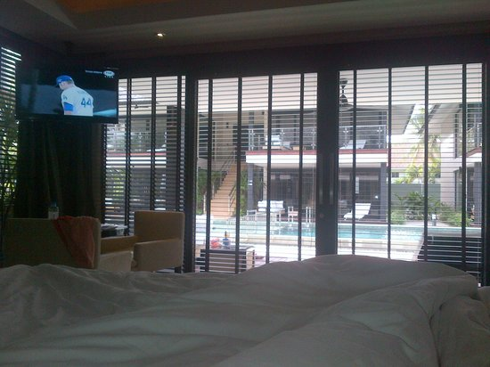 Nikki Beach Resort & Spa: from within room