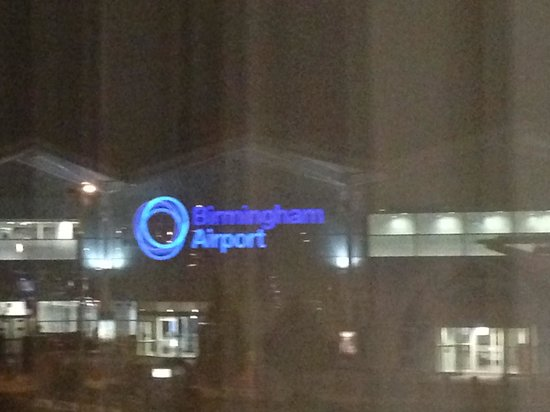 Novotel Birmingham Airport: View from Room