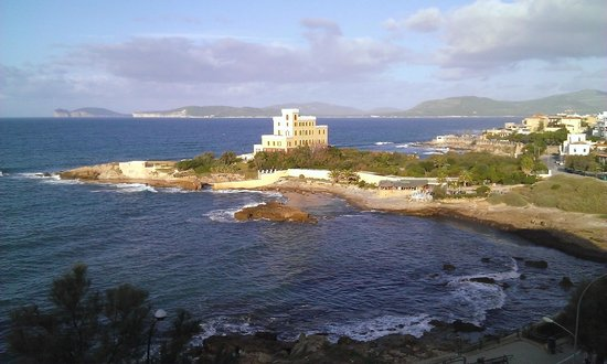 Carlos V Hotel : Vista mare