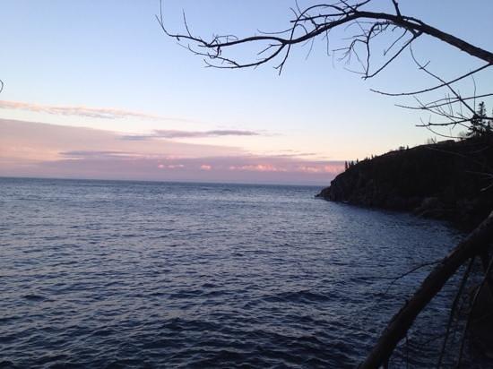 Les Chalets au Bord de la Mer: Panorama