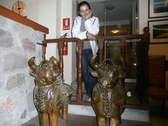 Hotel Taypikala Cusco: Famosos tourinhos da tradição peruana